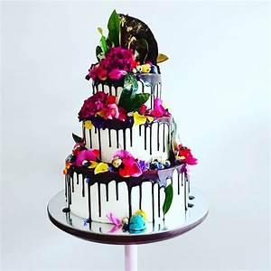 12 gateaux arc en ciel pour un mariage joyeux et colore With couleur qui donne envie de manger 4 les gateaux de mariage les plus beaux