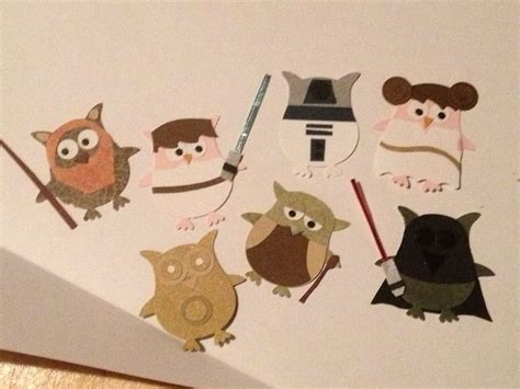 stampin  owl punch star wars owl punch cards owl