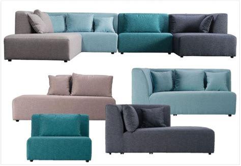 canapé modulable tissu canapé modulaire nos 6 modèles préférés