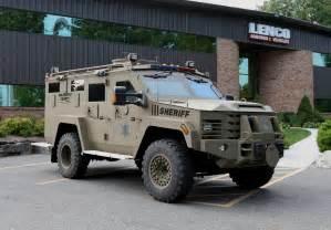 Lenco Bearcat Police Vehicle