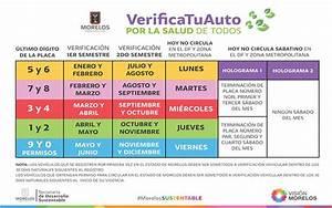 Costos, calendarios y requisitos de la verificación vehicular