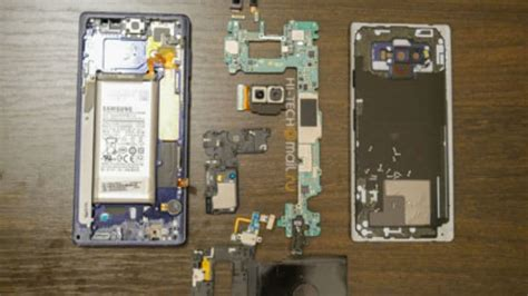 samsung galaxy note  teardown shows water carbon cooling bigger battery   technology