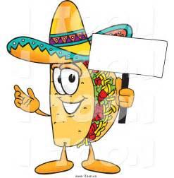 Taco Cartoon Clip Art