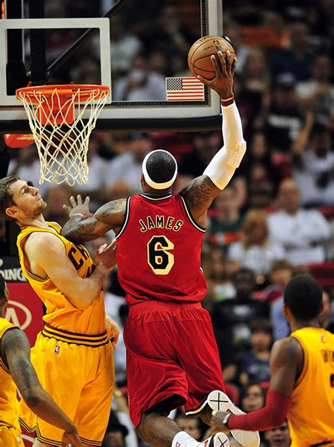 video yeah lebron  totally join  slam dunk