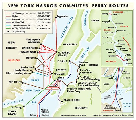 Ferry Boat Nj To Nyc by Ferry Transportation The Port Authority Of Ny Nj