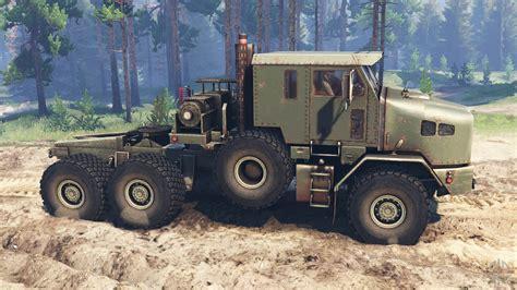Oshkosh M1070 Het V20 For Spin Tires