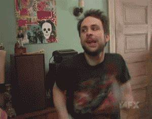 Excited Charlie Day GIF - Find & Share on GIPHY