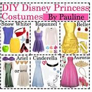 DIY Disney Princess Costumes - Polyvore  Diy Disney Costumes