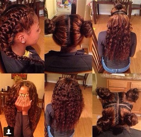 Sew In Weave Hairstyle Gallery by Pin By Black Hair Information Coils Media Ltd On Weaves