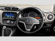 2018 Datsun GO+ facelift dashboard driver side