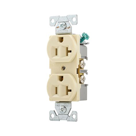 shop cooper wiring devices 20 ivory duplex electrical