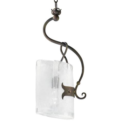 somerset wrought iron organic sculpted 1 light curved