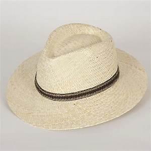 Chapeau De Paille Homme : chapeau fedora en paille homme enzo sepang blanchi l ~ Nature-et-papiers.com Idées de Décoration