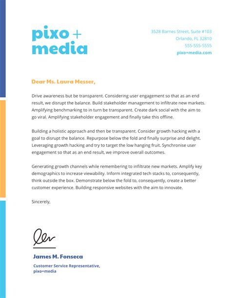 professional business letterhead templates