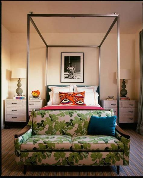 sofa at foot of bed 32 super cool bedroom decor ideas for the foot of the bed
