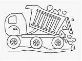 Dump Truck Coloring Pages Garbage Construction Landfill Printable Realistic Crayola Drive Getcolorings Getdrawings Drawing sketch template