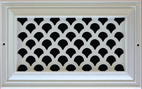 decorative grille air return vent