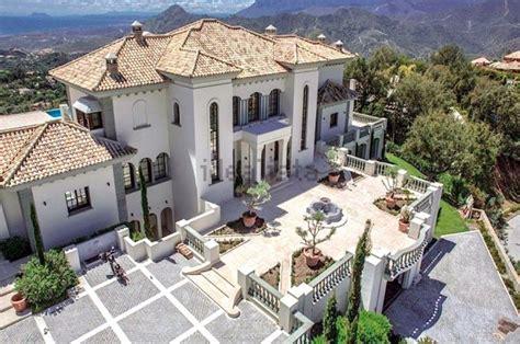 extraordinary hilltop villa  spain   pools