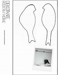 Girlande Basteln Vorlage : dekotante rockmyhome vorlage v gel v gel ~ Watch28wear.com Haus und Dekorationen