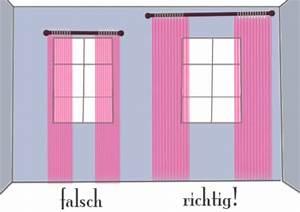 Kräuselband Vorhang Wie Aufhängen : design tipp richtig gardinen aufhaengen haushalt berichte ~ Markanthonyermac.com Haus und Dekorationen