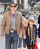 Daniel Day-Lewis and son visit FAO Schwarz – Moms & Babies ...