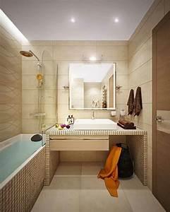 amenagement dune petite salle de bain 3 plans astucieux With idees amenagement salle de bain