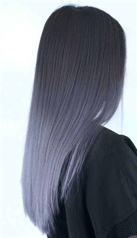 Lavender Grey Ombré Beauty Hairstylesandaccessories In
