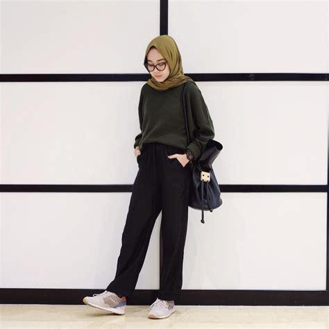 pin  hasna uswatun nisa  casual hijab style