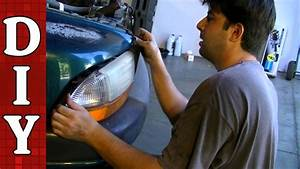 How To Remove And Replace A Head Light Bulb And Assembly