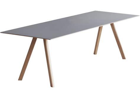 linoleum für tische copenhague table cph30 tisch mit tischplatte aus linoleum
