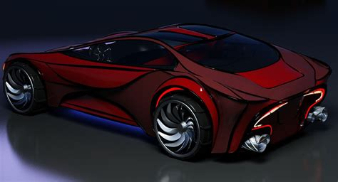 Concept Car 3d Model  Turbosquid 1229452
