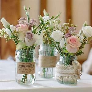 Bilder Und Dekoration Shop : traditional 39 mason style 39 glass jar wedding centrepiece decoration 8cm diameter height ~ Bigdaddyawards.com Haus und Dekorationen