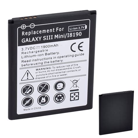 We hope you enjoy our growing collection of hd images. Brand New 3.7V 1900mAh Rechargeable Lithium ion Battery ...