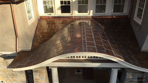 flat lock copper panel roof installation massachusetts
