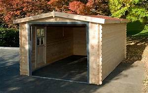 construire un garage abri travaux reglementation et tarifs With construire garage en bois