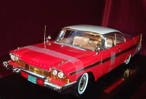 plymouth fury red anson  diecast car scale model