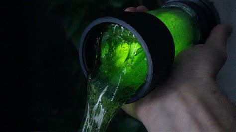 diy ninja turtle ooze make your own radioactive canister of glowing green slime at home