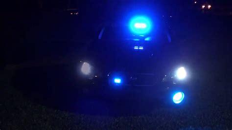 blue lights for firefighters indiana volunteer firefighter blue lights led