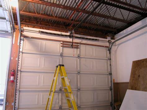 garage door install plaza s overhead garage door installation san diego by