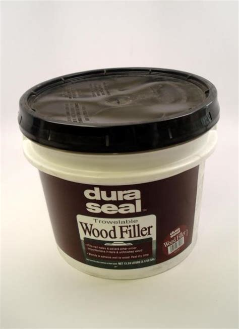 oak floor filler dura seal red oak trowelable wood filler 3 5 gallon chicago hardwood flooring