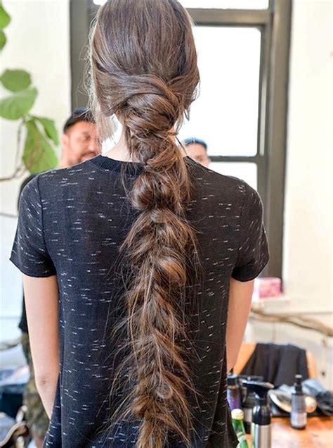 inspiradoras ideas de trenzas  el cabello largo