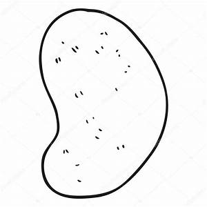 Black And White Cartoon Potato Pictures to Pin on ...