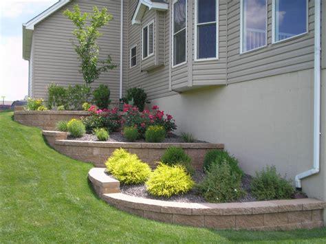 landscaping ideas retaining wall hillside ideas about hillside landscaping on pinterest retaining