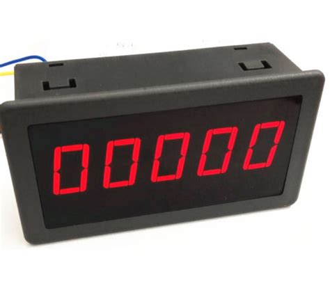 Pcs Red Led Digital Counter Meter Count Timer