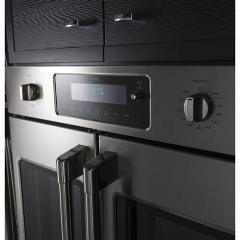ctshss ge cafe series  built  french door single convection wall oven