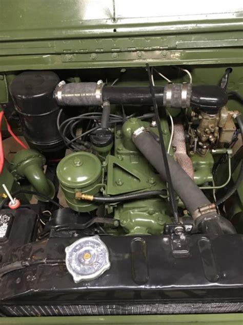 willys cja jeep complete engine rebuild  sale