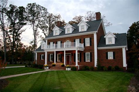 brick colonial house plans gallery coynerco energy efficient homes