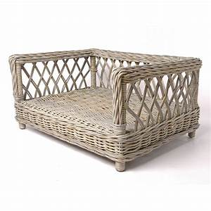 Wicker dog sofa mjob blog for Wicker futon sofa bed