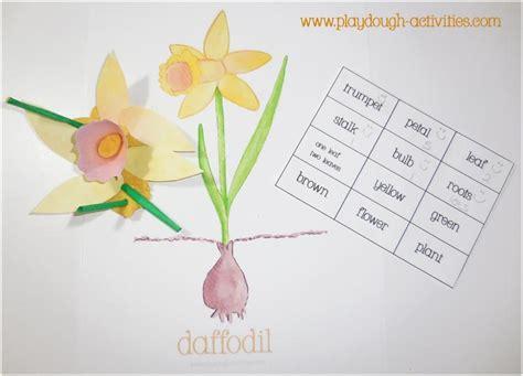 dafodil yellow playdough activities