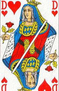 La Reine De Coeur : cartomancie toujours aller au del radicalement ~ Nature-et-papiers.com Idées de Décoration